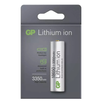 Akkumulátor GP Lithium-ion 18650 3350mAh PCM