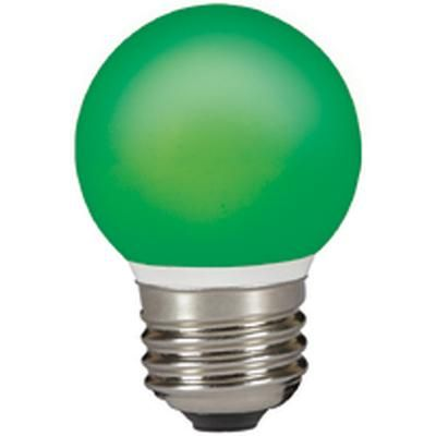 LED GÖMB E27  0,5W ZÖLD IP44@