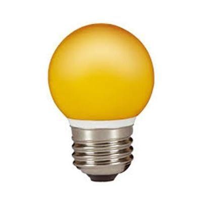 LED GÖMB E27  0,5W NARANCS IP44@
