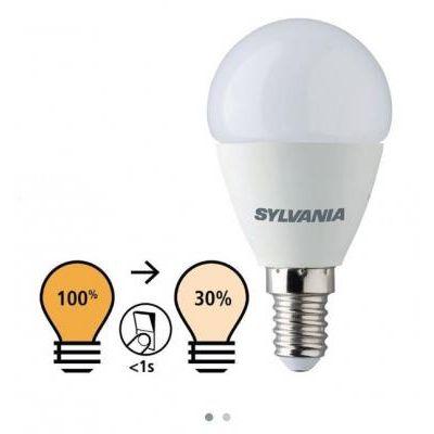 LED GÖMB E14  5,5W 2700K 100%-30%
