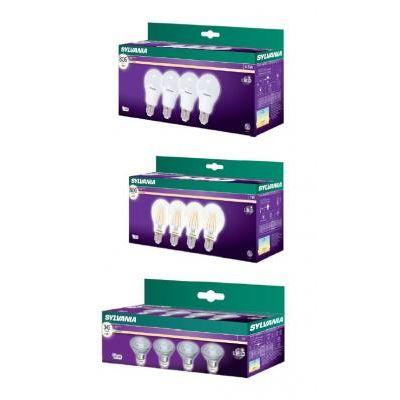 LED E27 NORM   8,5W 827  4db/CS