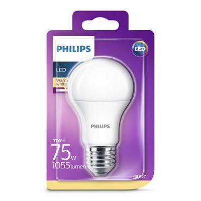 LED E27 NORM  11 W A60 WW 230V FR ND