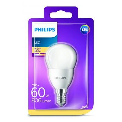 LED GÖMB E14 7W WARMWHITE 806lm