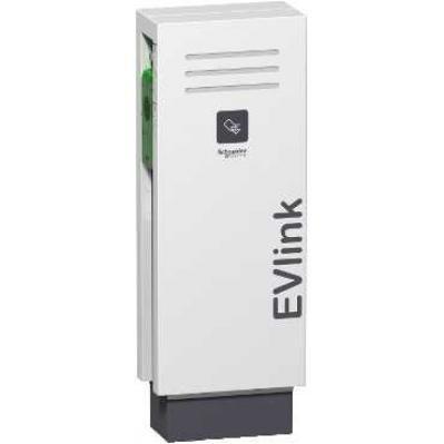 EVLink Álló elektromos autótöltő állomás 2x T2 - 7kW, RFID kártya leolvasó
