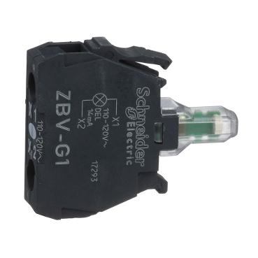 LED BLOKK 120V FEHÉR