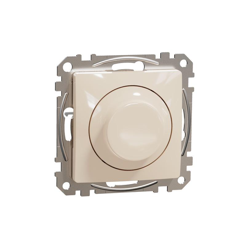 ÚJ SEDNA LED fényerőszabályzó, univerzális, 5-200VA, váltóba köthető, bézs