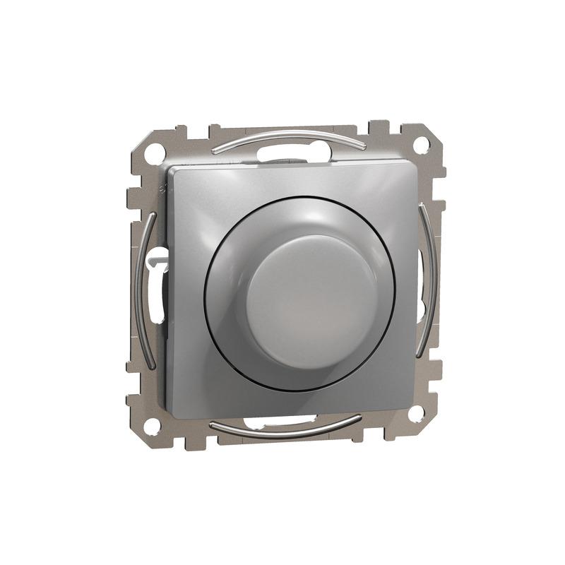 ÚJ SEDNA LED fényerőszabályzó, univerzális, 5-200VA, váltóba köthető, alumínium