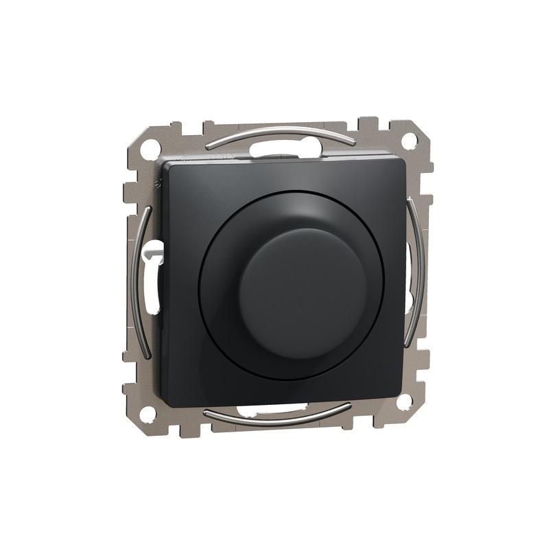 ÚJ SEDNA LED fényerőszabályzó, univerzális, 5-200VA, váltóba köthető, antracit