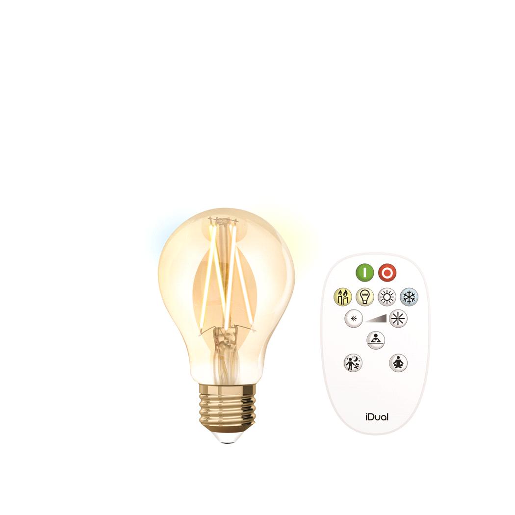 LED 9W E27 NORM+TÁV IDUAL FILAMENTS