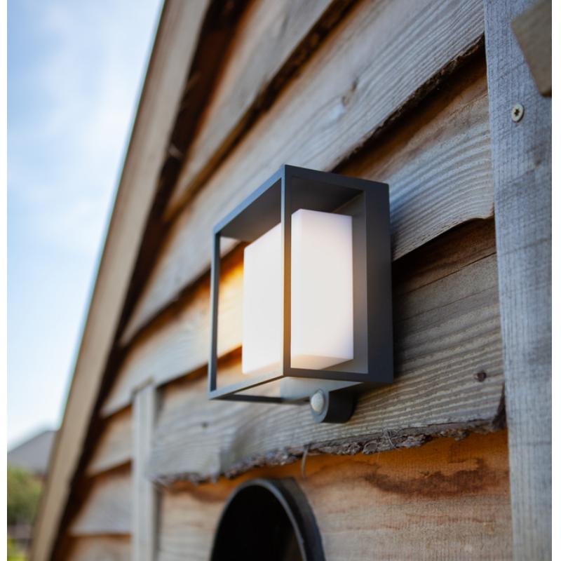 CURTIS LED kültéri fali.SOLAR 3W