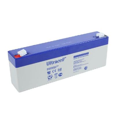 Ultracell 12V 2,4Ah gondozásmentes akkumulátor biztonságtechnikai rendszerekhez