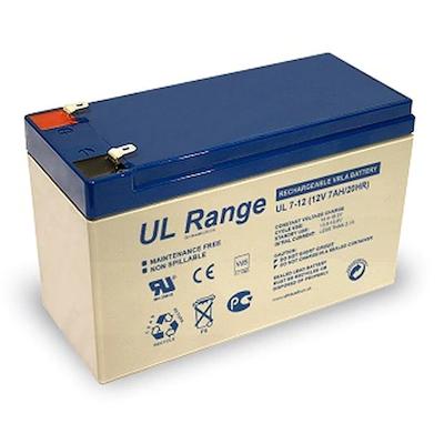 Ultracell 12V 7,0Ah gondozásmentes akkumulátor biztonságtechnikai rendszerekhez