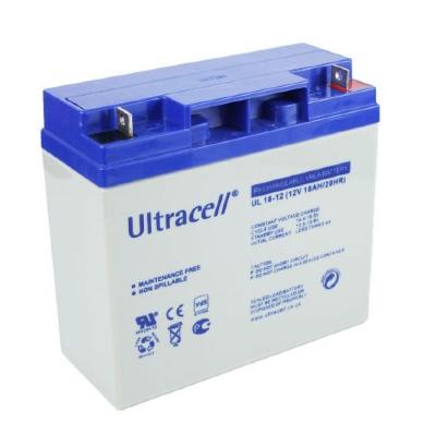 Ultracell 12V 18,0Ah gondozásmentes akkumulátor biztonságtechnikai rendszerekhez