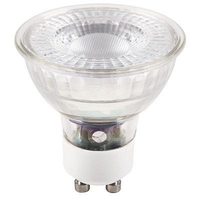 LED GU10, 5W, 345 lm, 3000K@