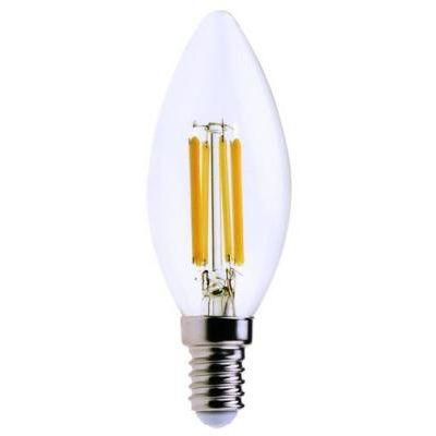 Filament LED E14 C37 6W 850lm 4000K