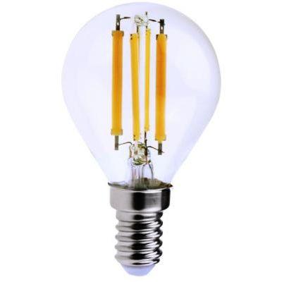 Filament LED E14 G45 6W 850lm 4000K