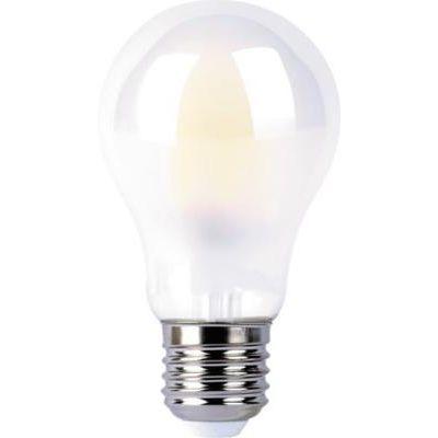 LED E27 10W normál opál 3000K