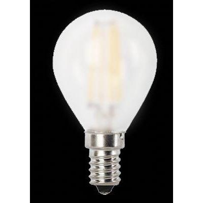 LED E14 4W gömb opál 350lm 4000K@