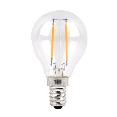 LED E14 4W gömb Filament 4000K