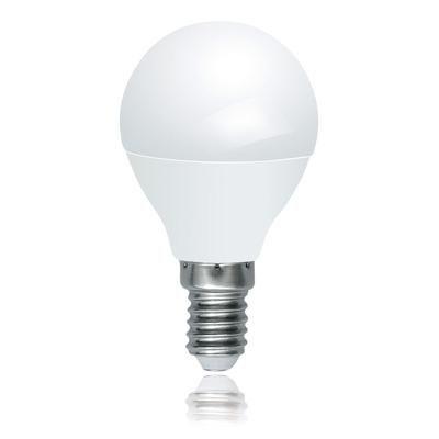 LED E14 5W gömb 2700K kapCS.dim.