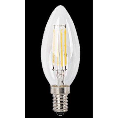 LED E14 4W gyertya 2700K 450LM