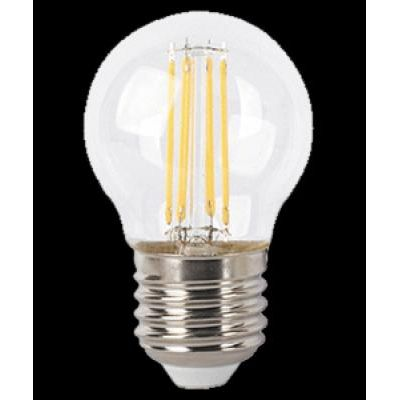 LED E27 4W gömb filament 450lm2700K@