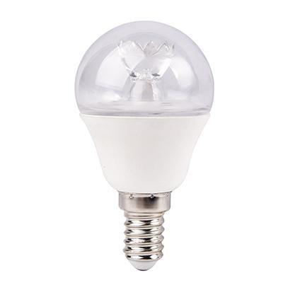 LED E14 6W gömb 480lm 4000K@