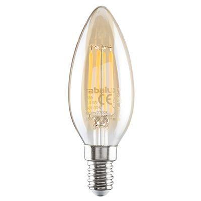 LED E14 gyertya filament 4W 350lm