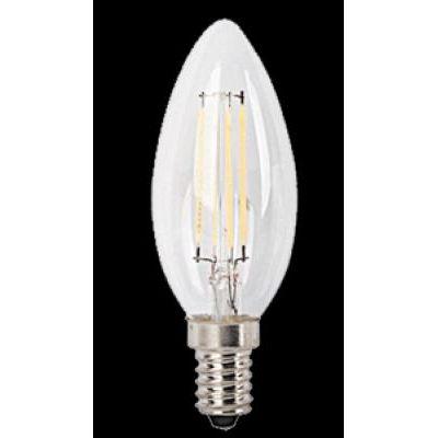 LED E14 4W gyertya 470 lm 4000K