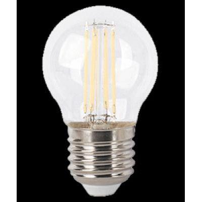 LED E27 4W gömb filament 470lm4000K