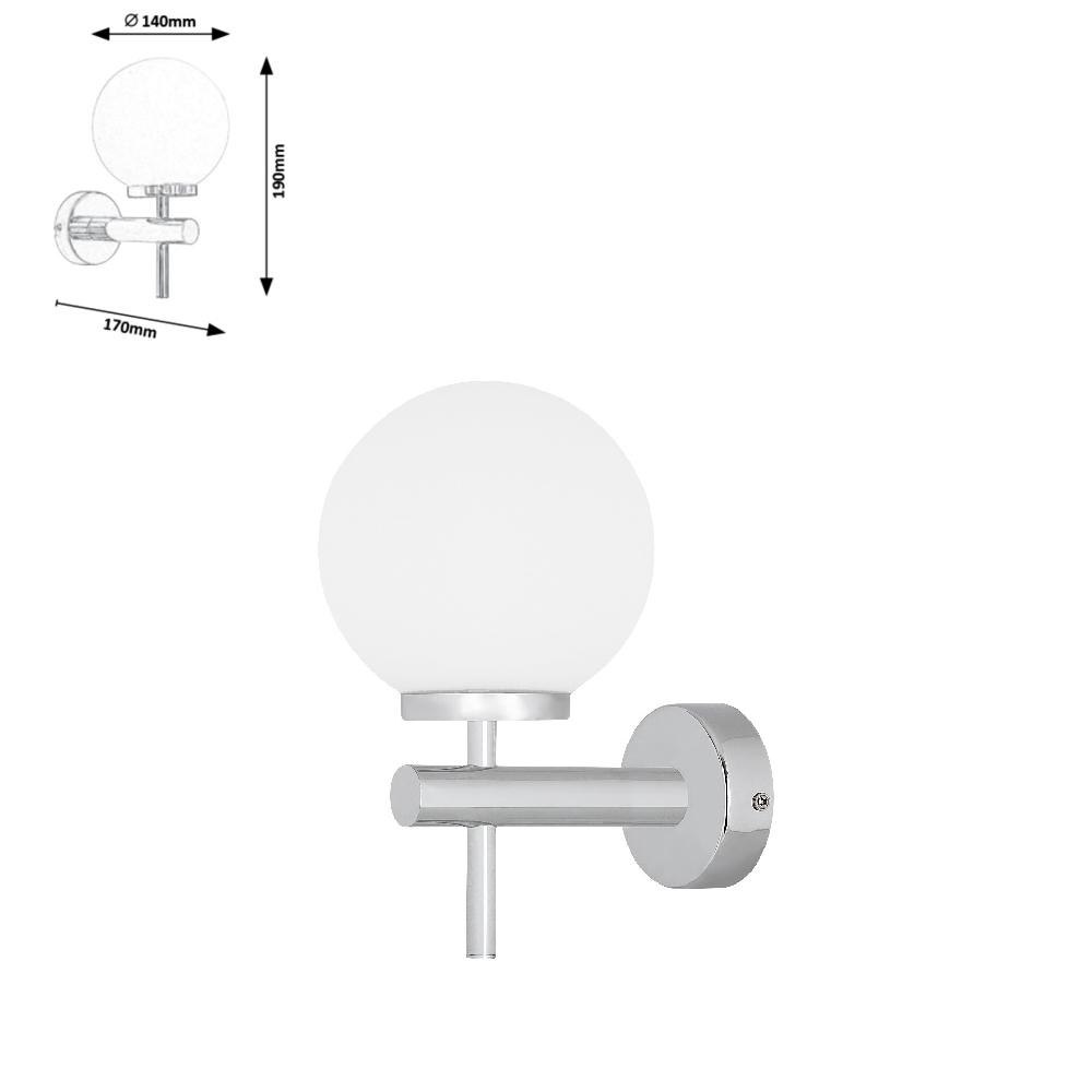 AVERY fürdőszobai lp.6W LED 550lm