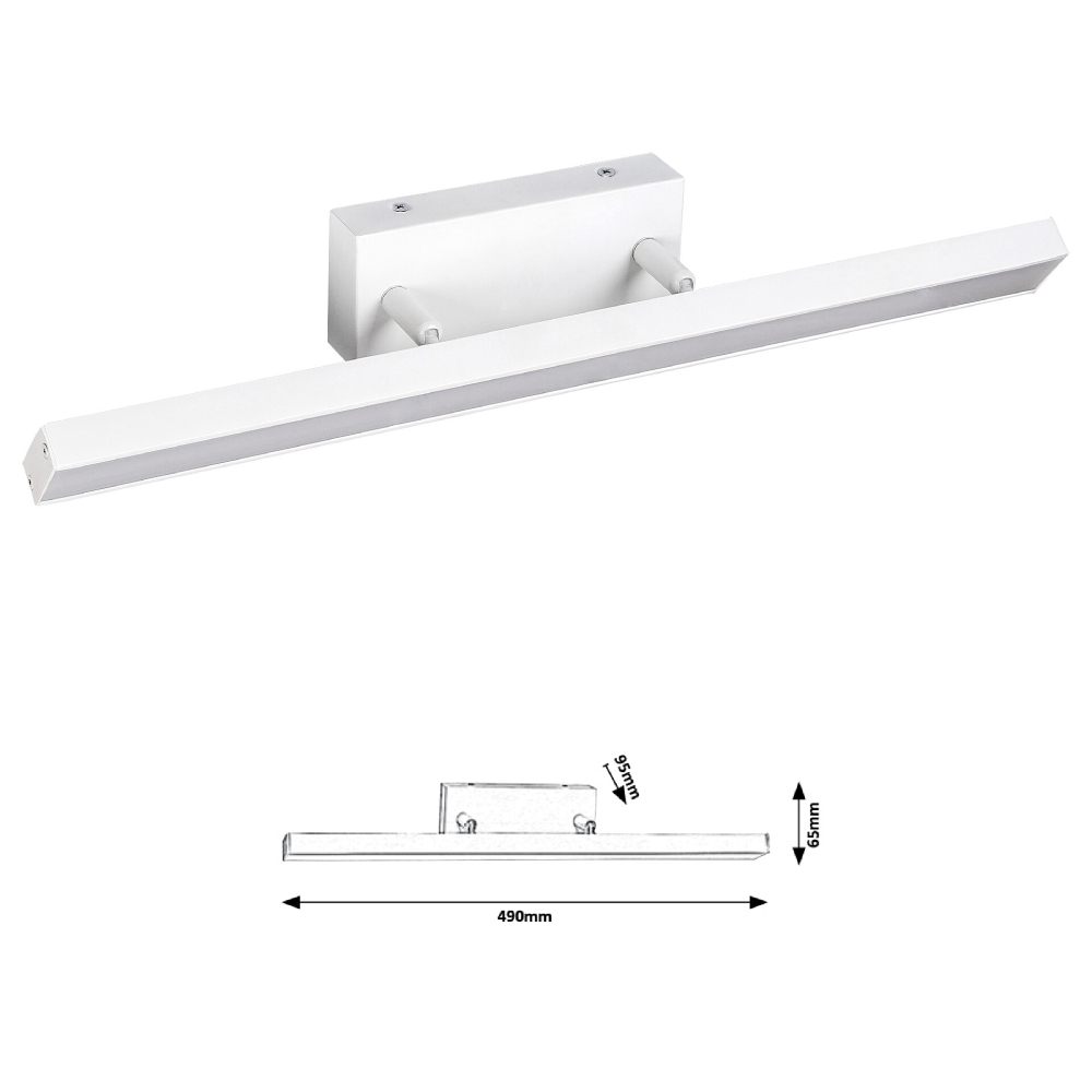 ANDREW fürdőszobai 12W LED FH