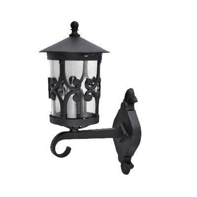 PALMA 1 karos fali fekete lámpa