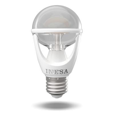 LED E27 NORM   8 W 2700K CLEAR UF@