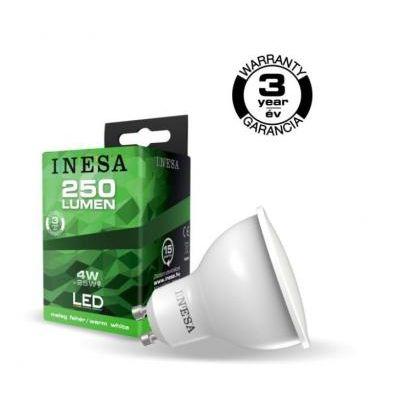 LED GU10  4 W 3000K 105°@