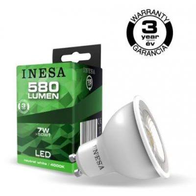 LED GU10  7 W 4000K 38°