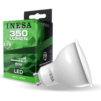 LED GU10  5 W 3000K 105° DIMM