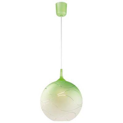 Függeszték 1×60W E27 zöld gömb