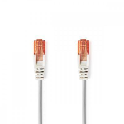 Cat6 UTP Hálózati kábel 0.5m szürke