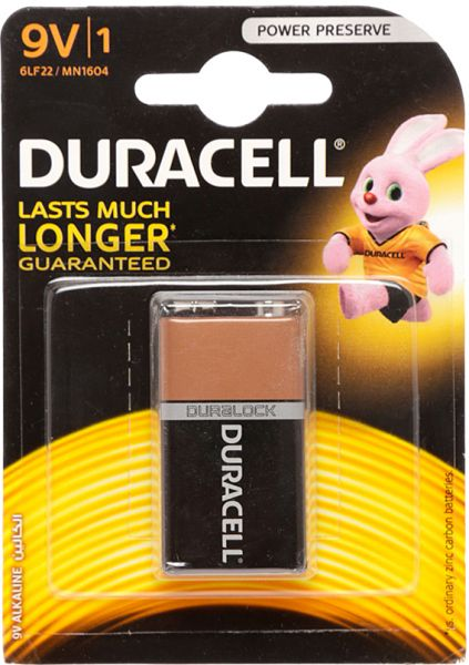 DURACELL MN 1604 K1 BASIC 9V-os 2 db-os