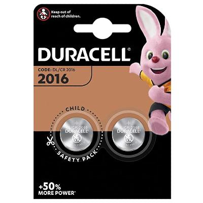 DURACELL 2016 DL B2 2db/bl