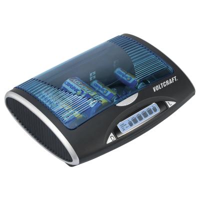 VOLTCRAFT P-600 Hengeres akku töltő NiMH Mikro (AAA), Ceruza (AA), Baby (C), Góliát (D), 9 V-os