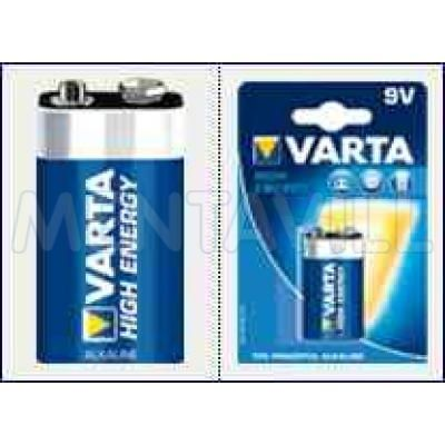 VARTA 9V  HIGH ENERGY