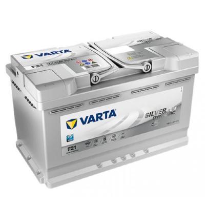 Varta Silver Dynamic AGM 80ah 800A Jobb+ autó akkumulátor
