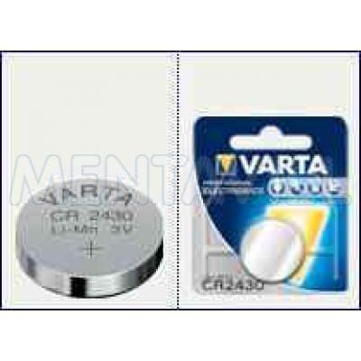 VARTA CR 2430 3V LÍTIUM ELEM