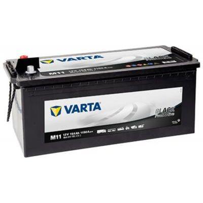 AUTÓ AKKU 12V 154Ah BLACK PROMOTIVE Varta Promotive Black 154 Ah 1150A