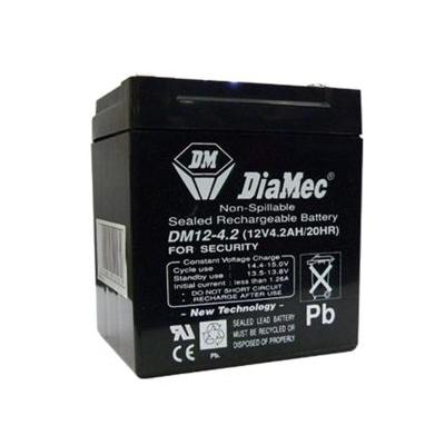 Diamec zselés ólomsavas gondozásmentes akkumulátor 12V 4500mAh 105.5x89.5x70mm