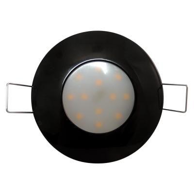 SPOT LED 6W FIX FEKETE