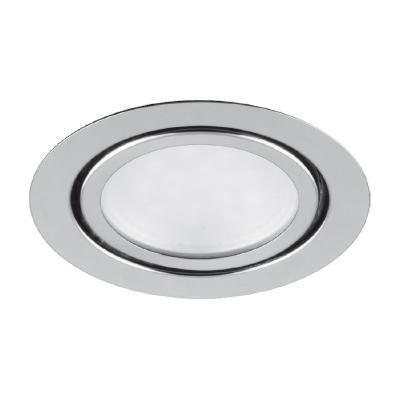 SPOT LED 3W FIX  Króm