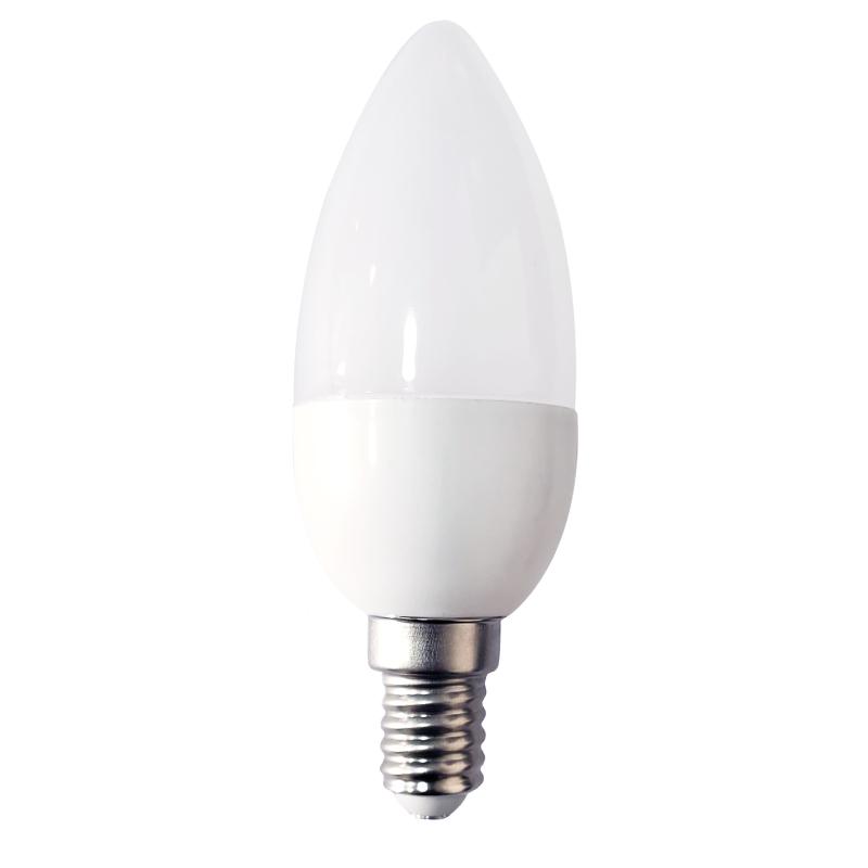LED GYERTYA 1W E14 FEHÉR 2700K